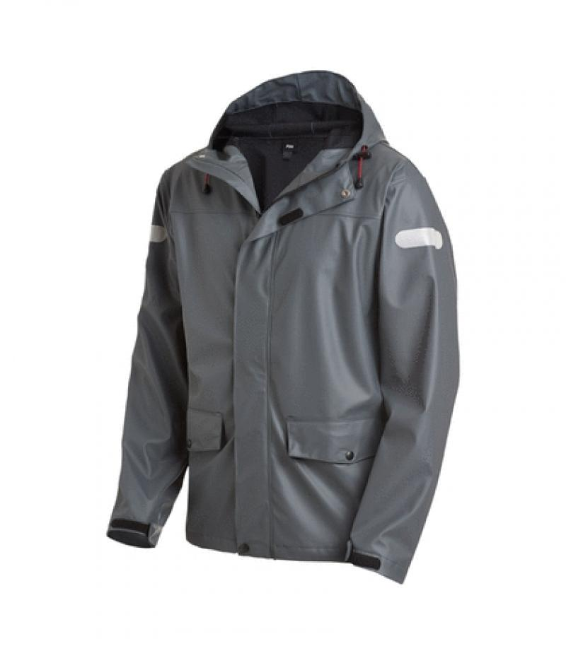 "PU-Stretch-Regenjacke ""Rainer"""
